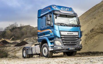DAF CF y XF disponibles con tracción delantera conmutable