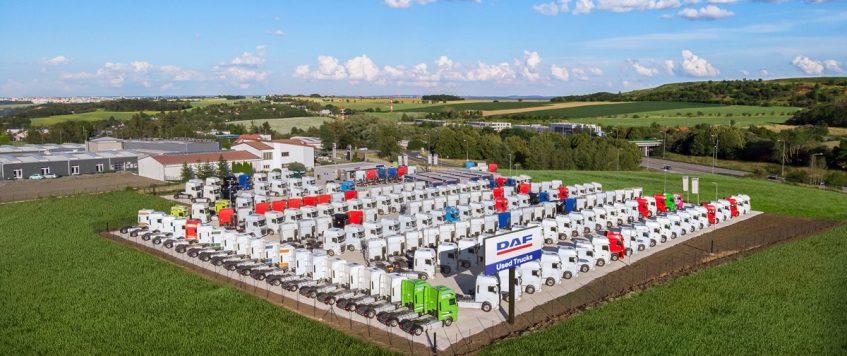 Nuevo centro de camiones usados en Praga